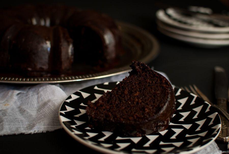 Chocolate Bundt CakeThyme of Taste