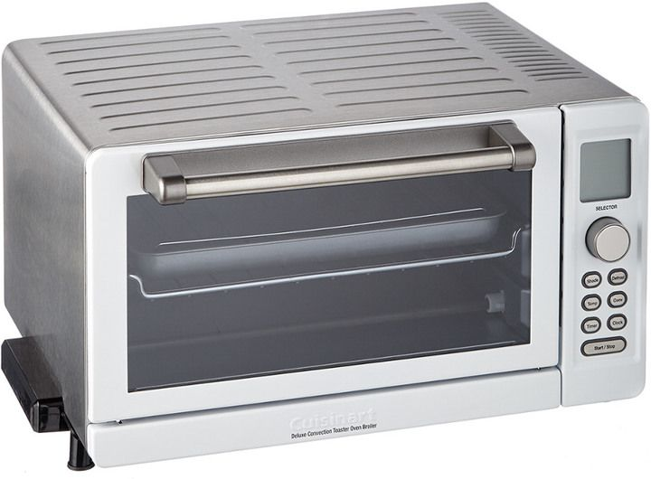 Cuisinart Deluxe Convection Toaster Oven Broiler Toaster Small Appliances Brushed Stainless Steel