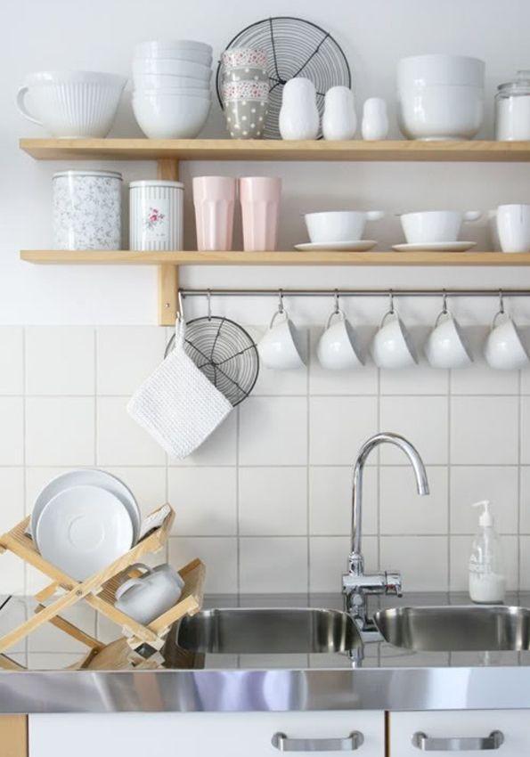 Otwarte Półki W Kuchni Plusy I Minusy Kuchnia Wnętrze