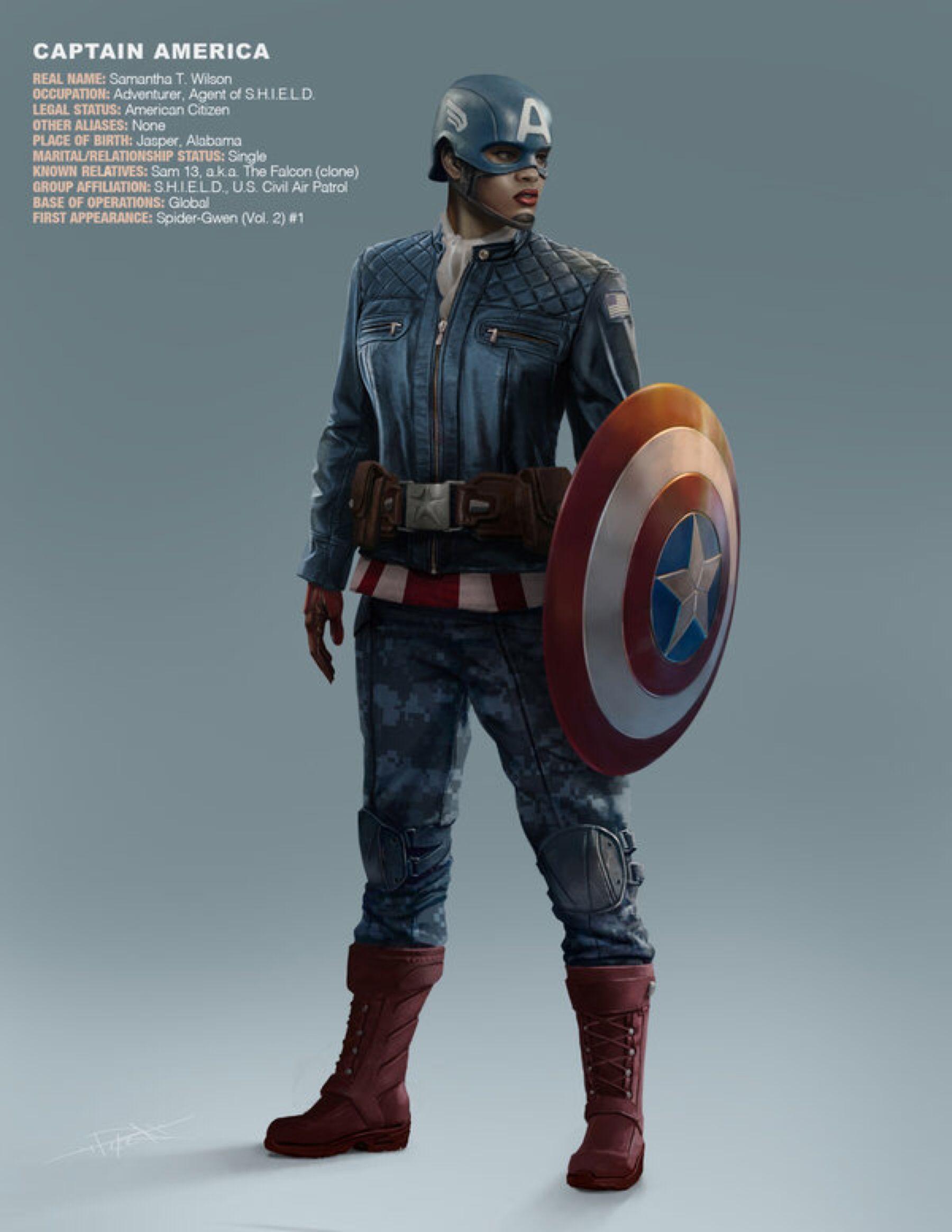 Earth 65 Captain America