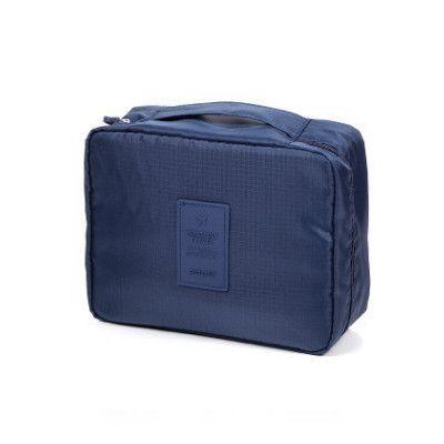 547b058178 Waterproof Oxford Portable Cosmetic Bag Women Travel Make up Toiletry Bag  Fashion Necessaries Makeup Organizer Case Men Wash Bag