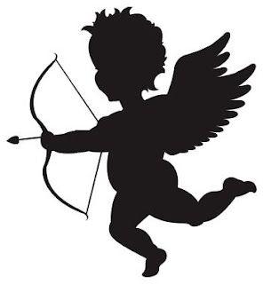 Love To Scrapbook Cupid Svg Freebie Silhouette Silhouette Stencil Silhouette Images