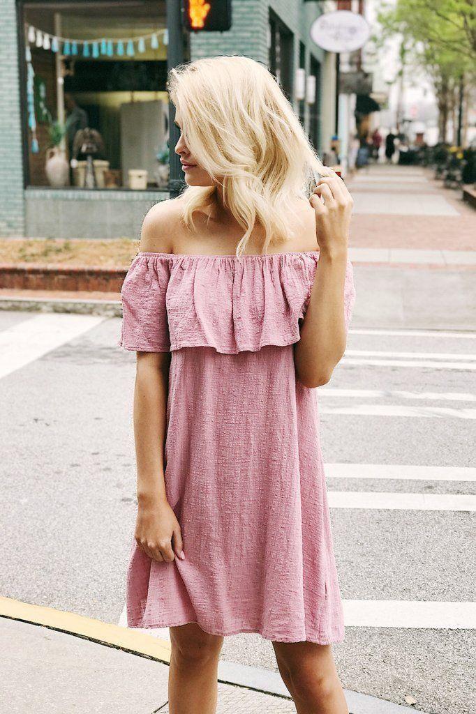 11+ Pink off the shoulder dress ideas ideas