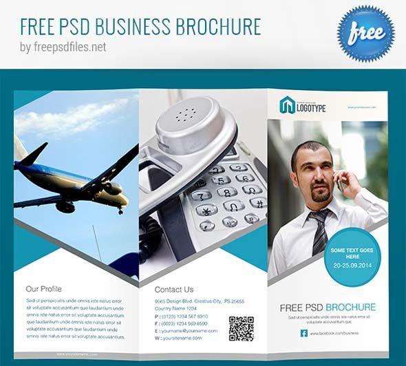 Amazing Photo Realistic Free Business Brochure Designs