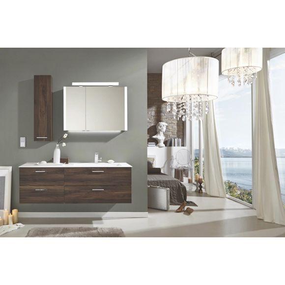 Stilvolles Badezimmer In Dunklen Ulmefarben Von Novel Badezimmer Baden Waschbeckenunterschrank
