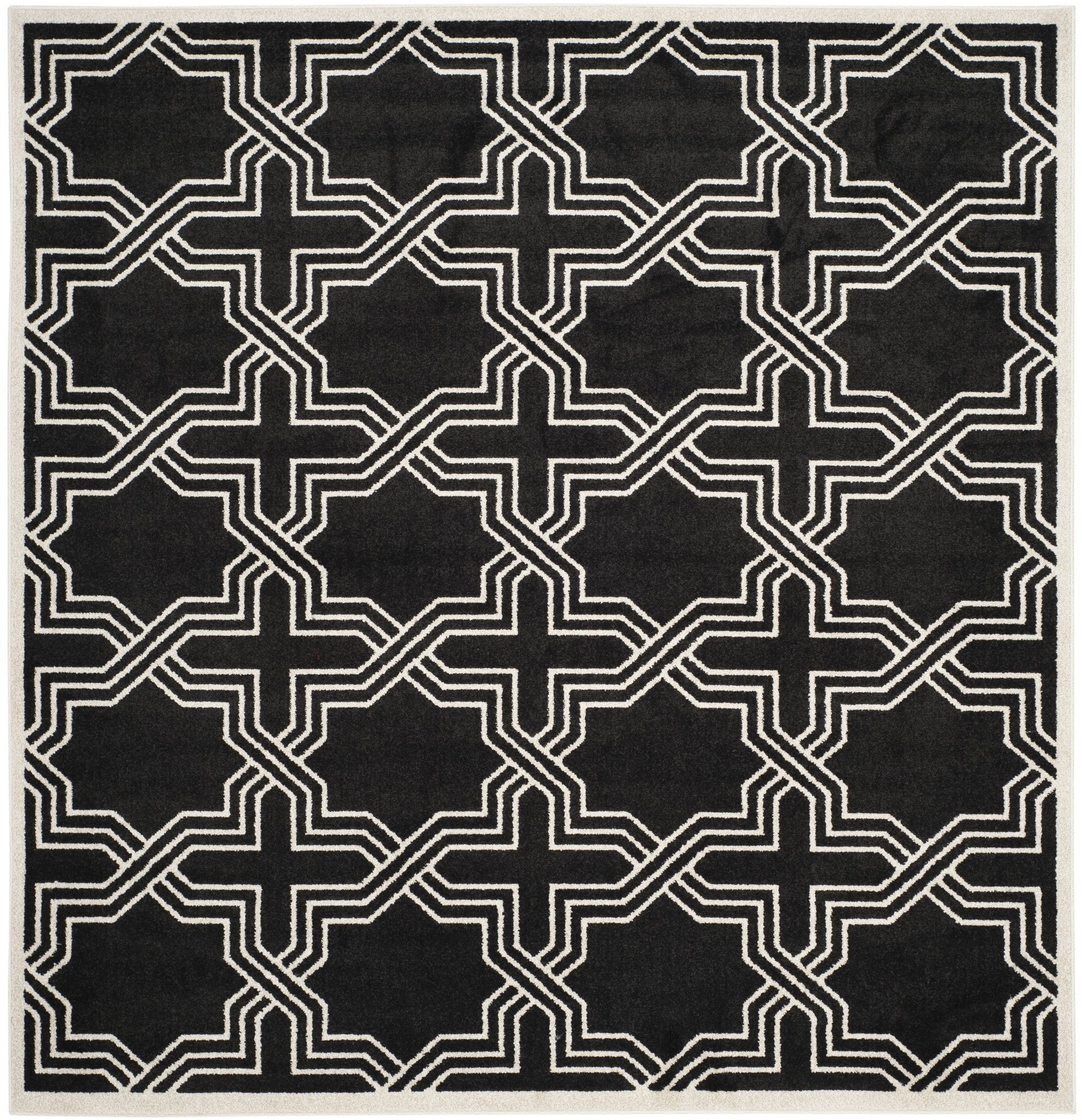 Waverly Place Anthracite/Ivory Indoor/Outdoor Area Rug