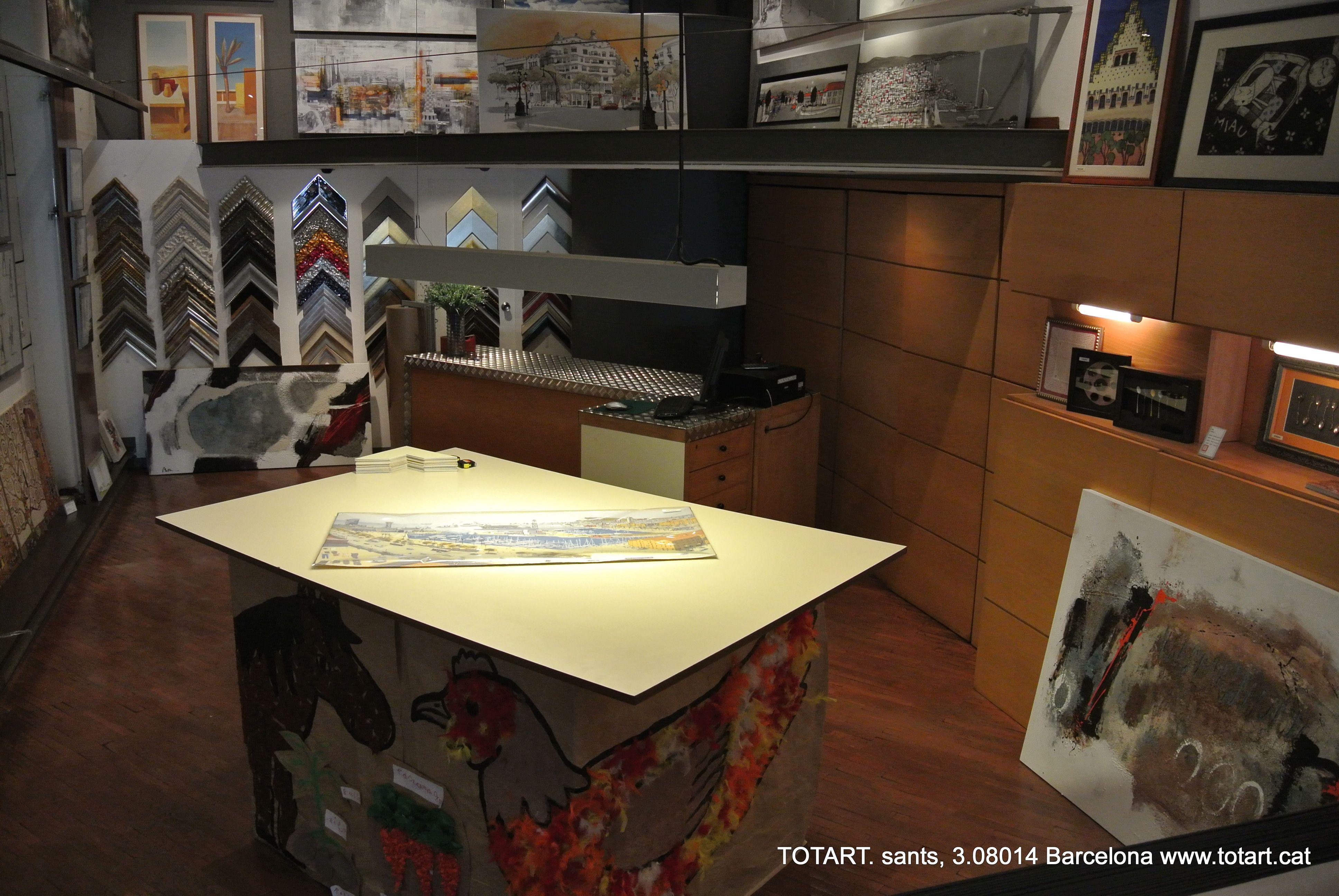 Tienda de decoraci n y enmarcaci n en barcelona totart for Tiendas de decoracion de hogar