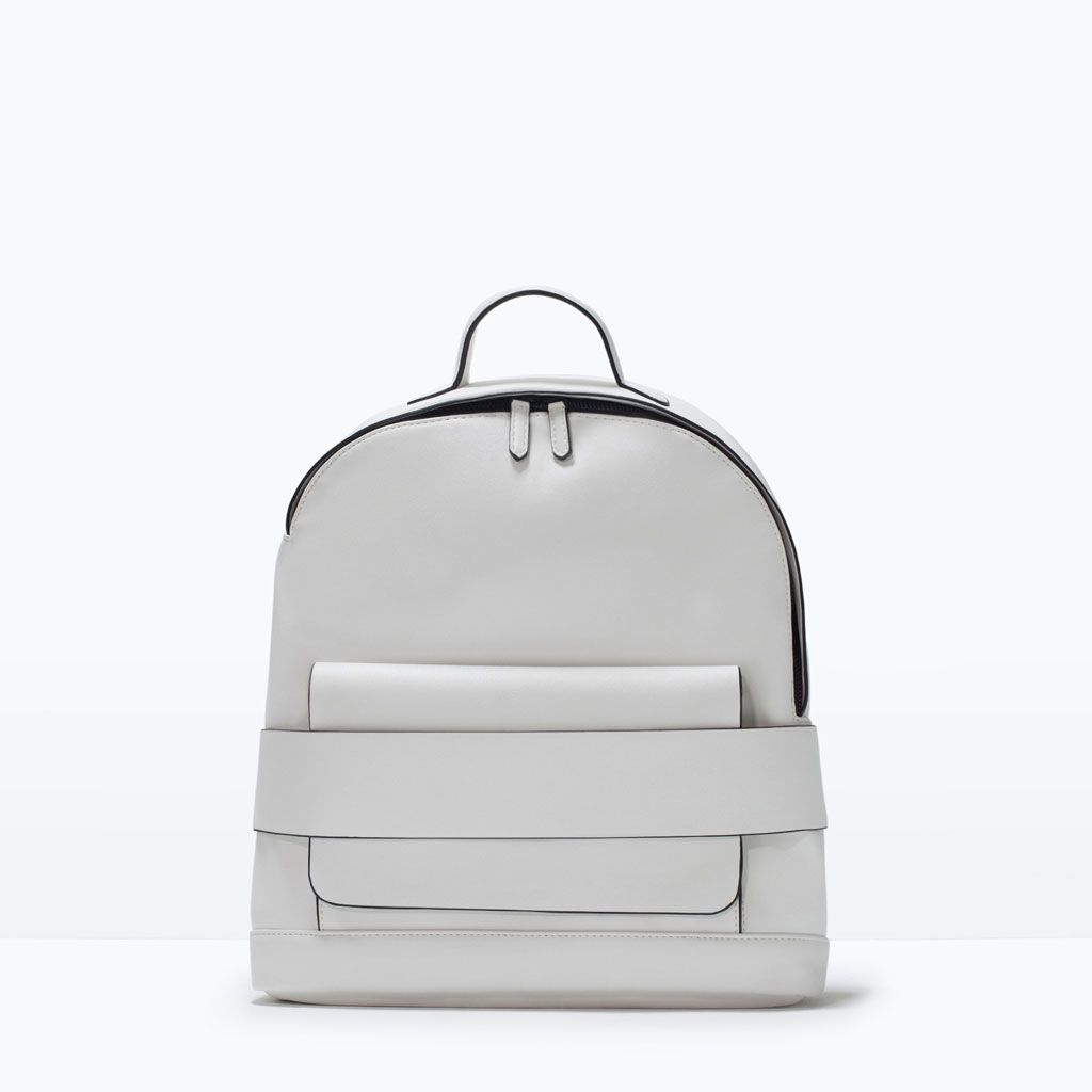 Image 1 of BACKPACK WITH STRAPS from Zara | Bags I love ...
