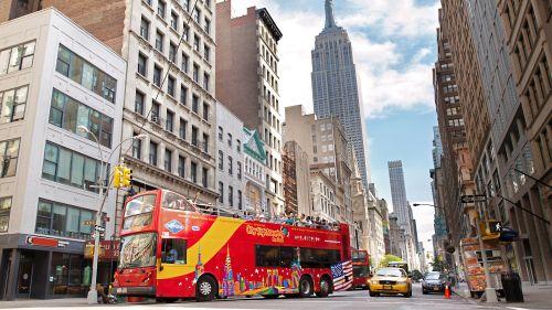 hop-on hop-off bus tour - new york   new york city tours