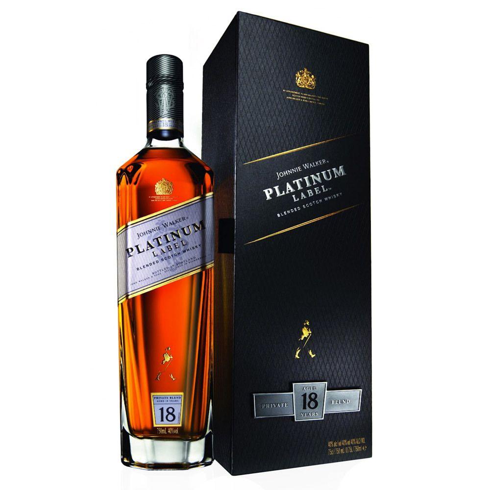 JOHNNIE WALKER SCOTCH | Johnnie Walker Platinum Label 18 Year Blended Scotch Whisky 750ml