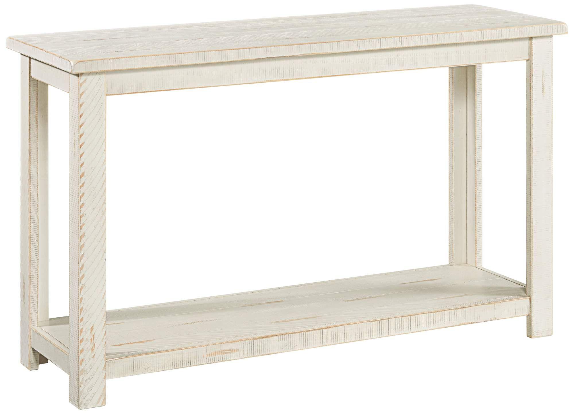 Tables Ventura 48 Wide Antique White Rectangular Wood Sofa Table In 2020 Wood Sofa Wood Sofa Table White Sofa Table