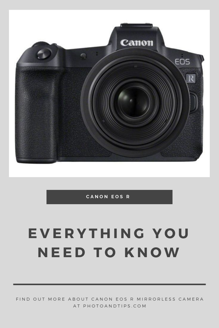 Canon EOS R Full Frame Mirrorless Camera Review: Best of the Best ...