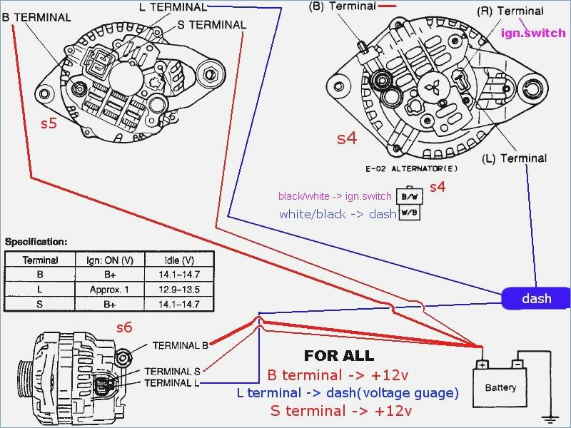 toyota 4 pin alternator wiring diagram ls alternator wiring diagram alternator  car alternator  ls alternator wiring diagram