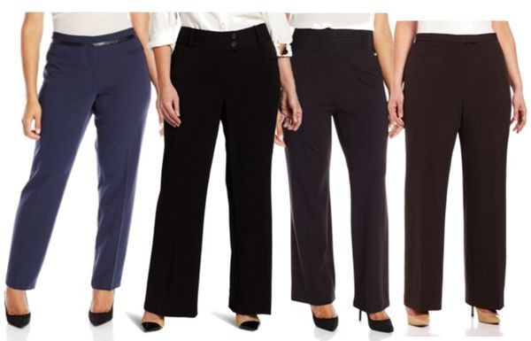 work essentials pants for plus size women | style plus size