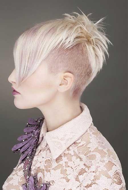 20 Colores Elegantes Para El Pelo Corto Farbe Fur Kurzes Haar Frisuren Kurze Haarfarbe