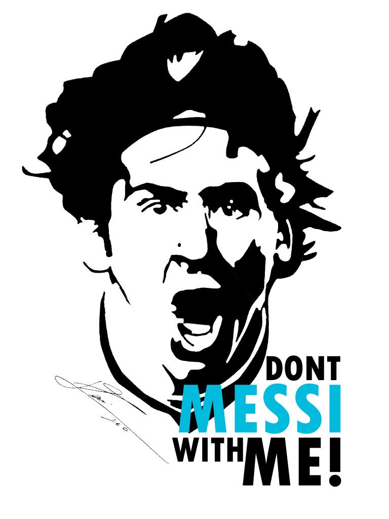 Don T Messi With Me Sports Football Tee Shirts Shirts