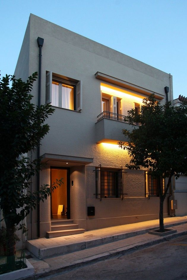 i just love the pared down approach to design greek architect minas kosmidis has redesigned modern house - Greek Modern Home Architecture Design