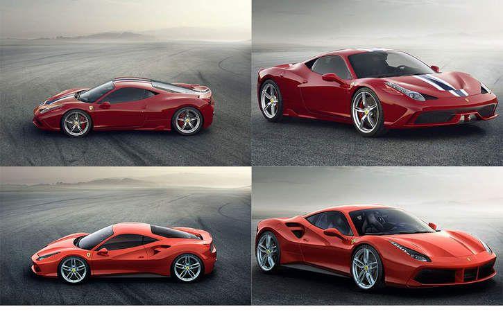 ferrari 488 vs 458 - google search | awesome cars | pinterest