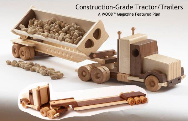 Download Plans For Wood Toy Trucks Pdf Plans Wooden Toys