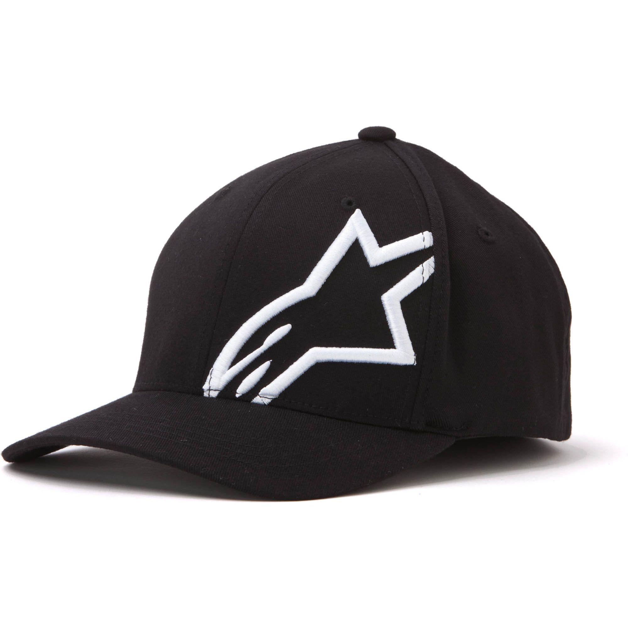 Alpinestars Maximum Mens Flat Motorcycle Street Flat Bill Hats