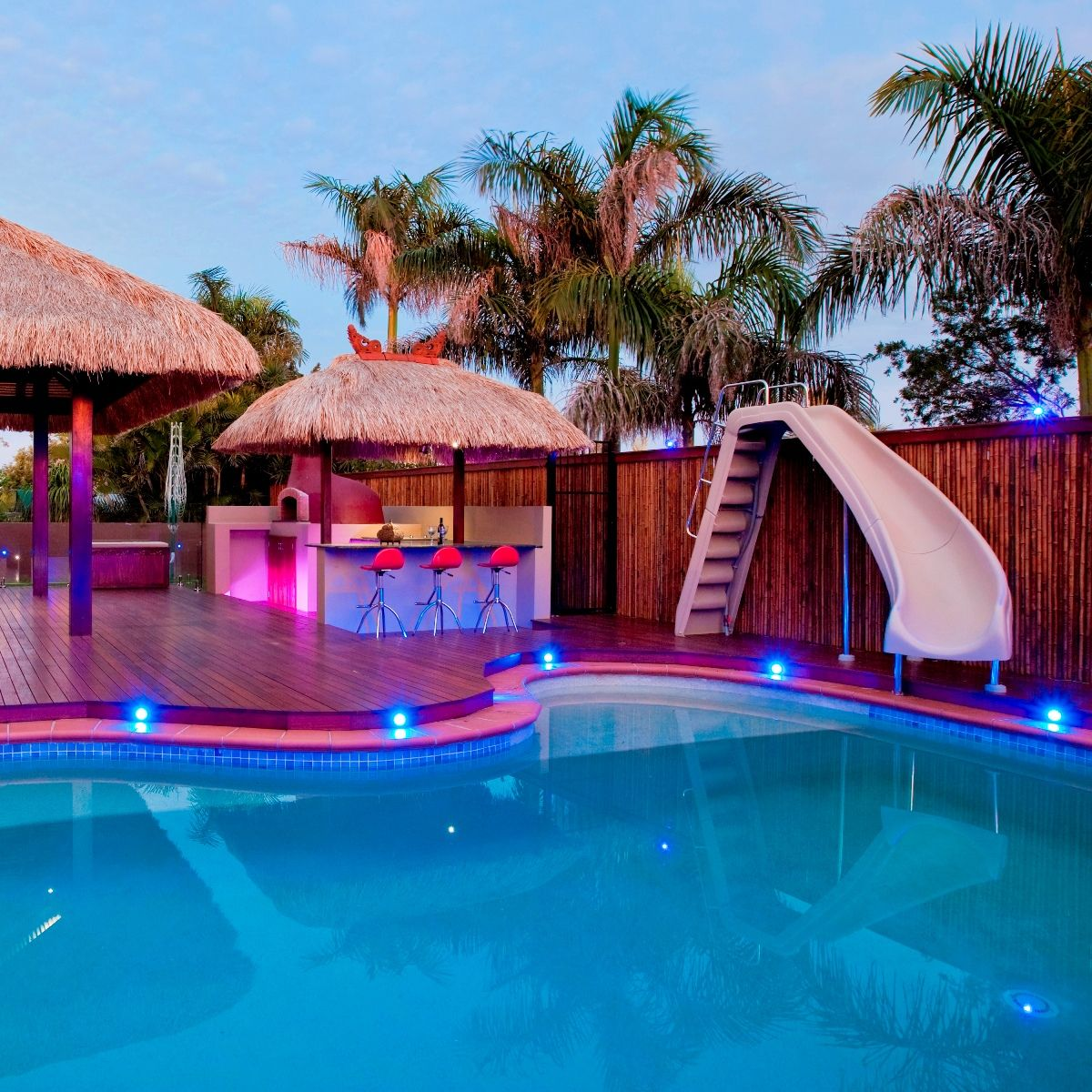 Which Of The Backyard Pool Slides Is Better For You Water Pools Feature
