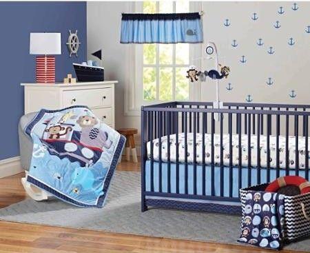 Barcos: decoración náutica para el cuarto de tu bebé   Ideas ...