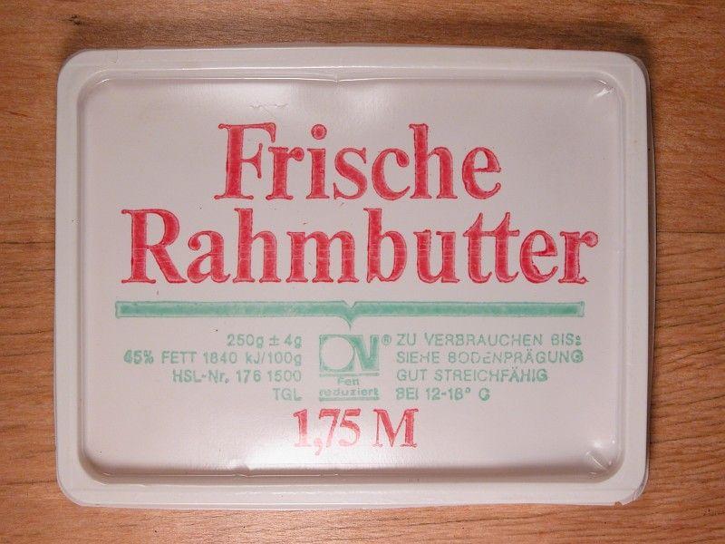 Photo of Frische Rahmbutter