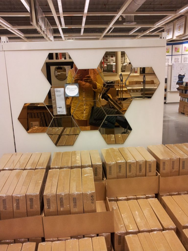 Ikea Honefoss Mirror Layout Wishes Pinterest Wohnideen