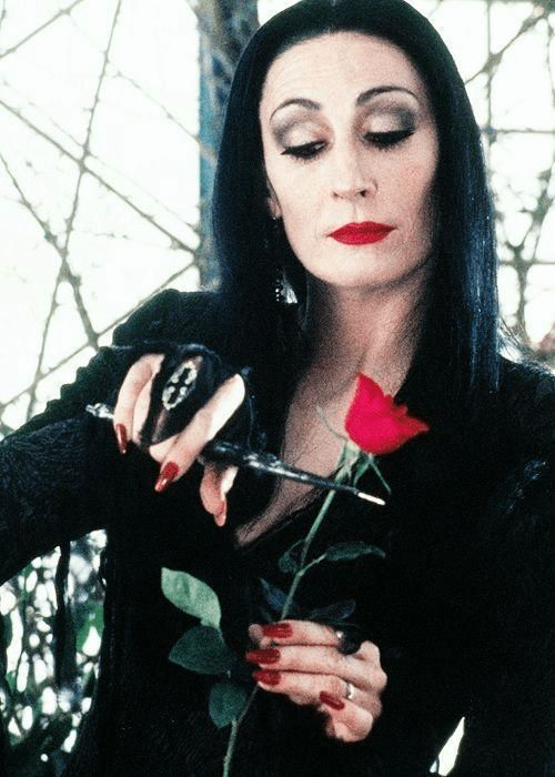 Why Morticia Addams Was The Beauty Trendsetter The