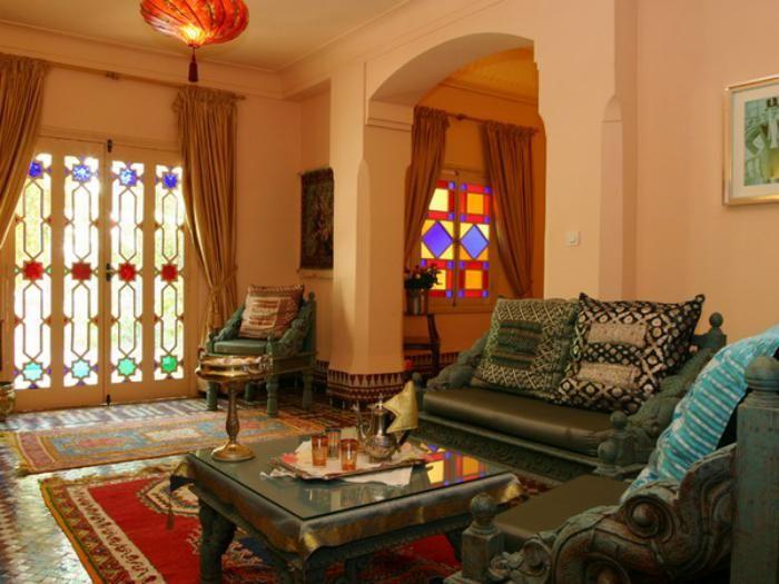Lu0027aménagement du0027un salon marocain moderne - Archzinefr Salon
