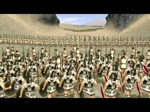 History Channel Decisive Battles E07 Thermopylae (Fifty Famous Stories Retold:  The Brave Three Hundred)