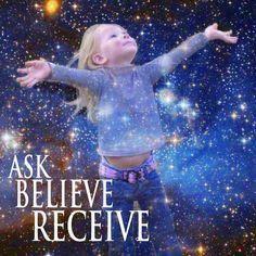 Chiedi,Credi,Ricevi!Sei TU che decidi quale sarà la tua vita in base a ciò che chiedi,credi e trasmetti di te stesso. Buena Vida! Katia