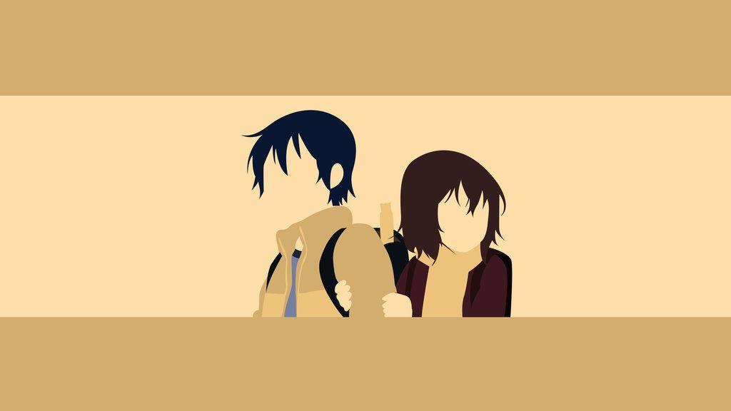 Satoru And Kayo Boku Dake Ga Inai Machi Anime Background Hd Wallpaper Anime Wallpaper Desktop anime desktop erased wallpaper