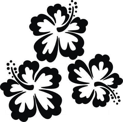 Plantillas flores  stencils  Pinterest  Plantas Siluetas y
