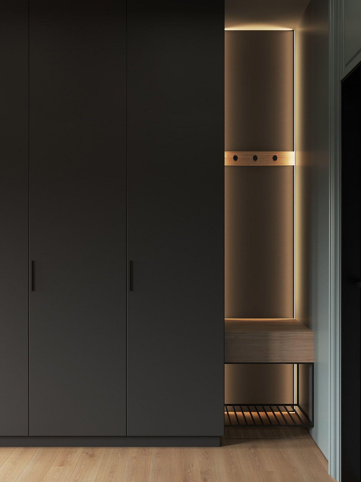 Photo of Interior Design Using Moody Colours And Natural Materials –  Interior Design Usi…