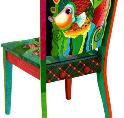 Alte Stühle Dekorieren upcycling ideen wie alte stühle dekorieren und bemalen kann