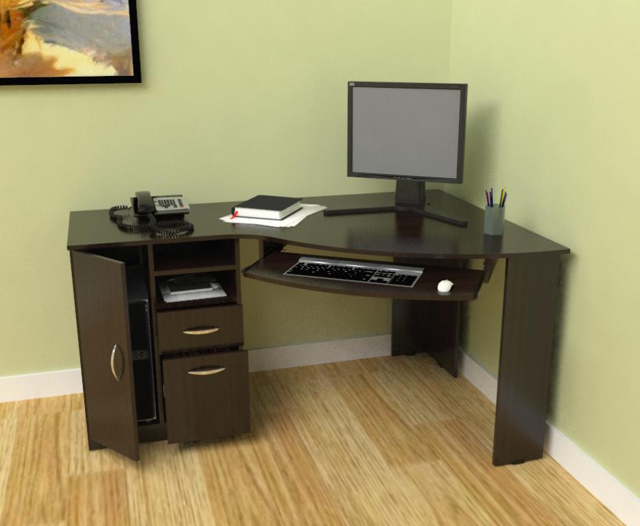 Inval America ET-3115 Espresso Work Station / Escritorio de la computadora