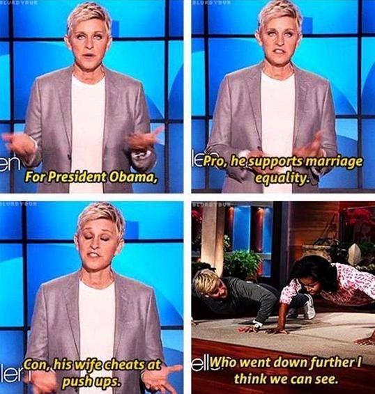 Portia De Rossi Fat: Funny Things Ellen Degeneres Says.