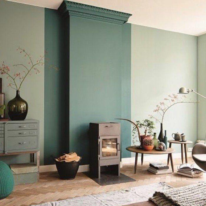 On met l\u0027accent sur la couleur de peinture pour salon! - Archzinefr - Peindre Du Carrelage De Sol