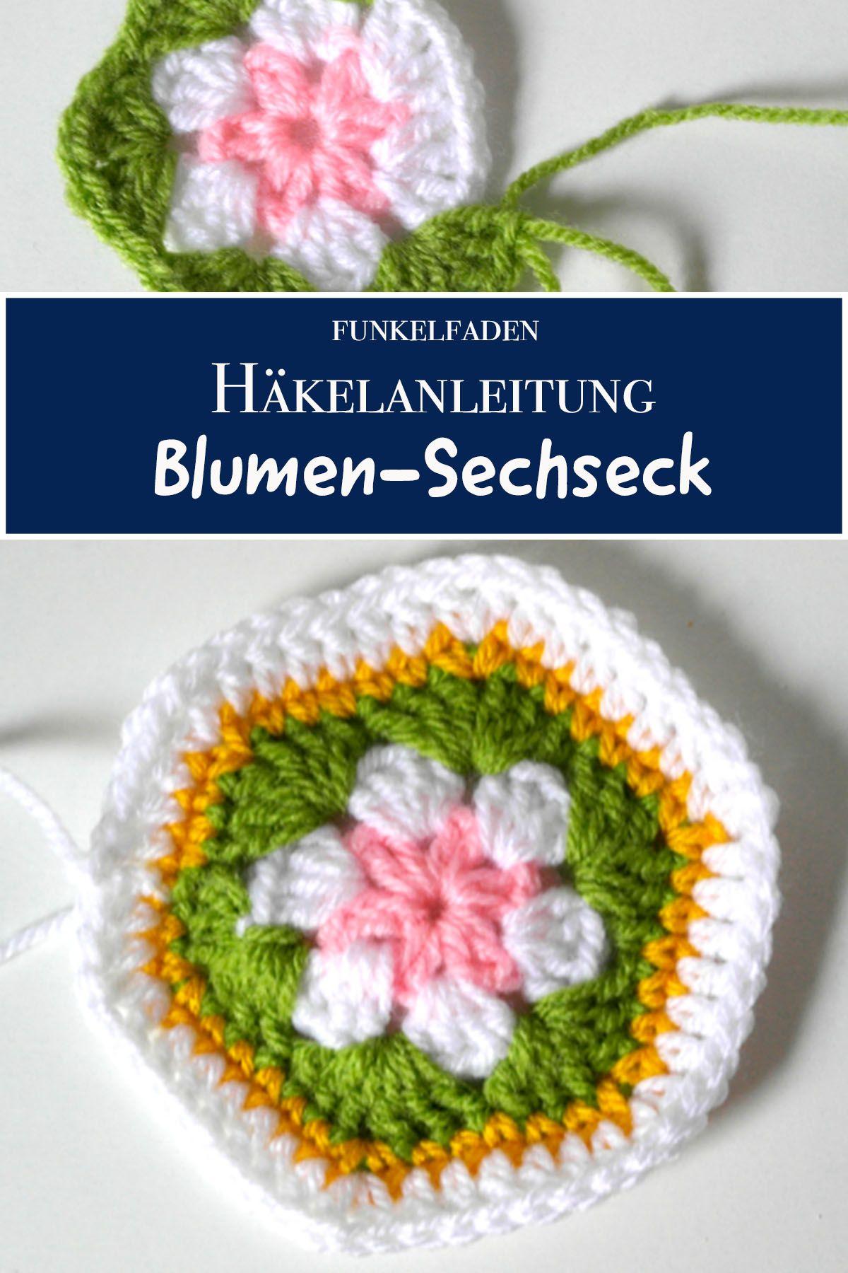 Blume Häkeln Filzen Anleitung Fab Hairdesign