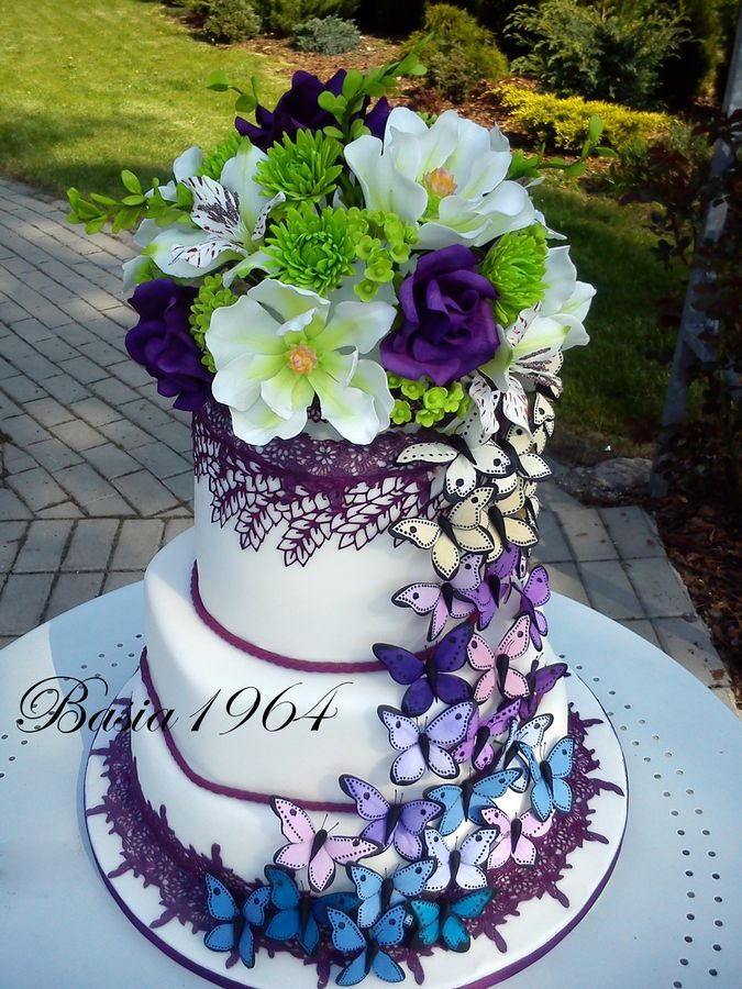 Wedding Cake. Butterfly Cake Cakes in 2019 Cake