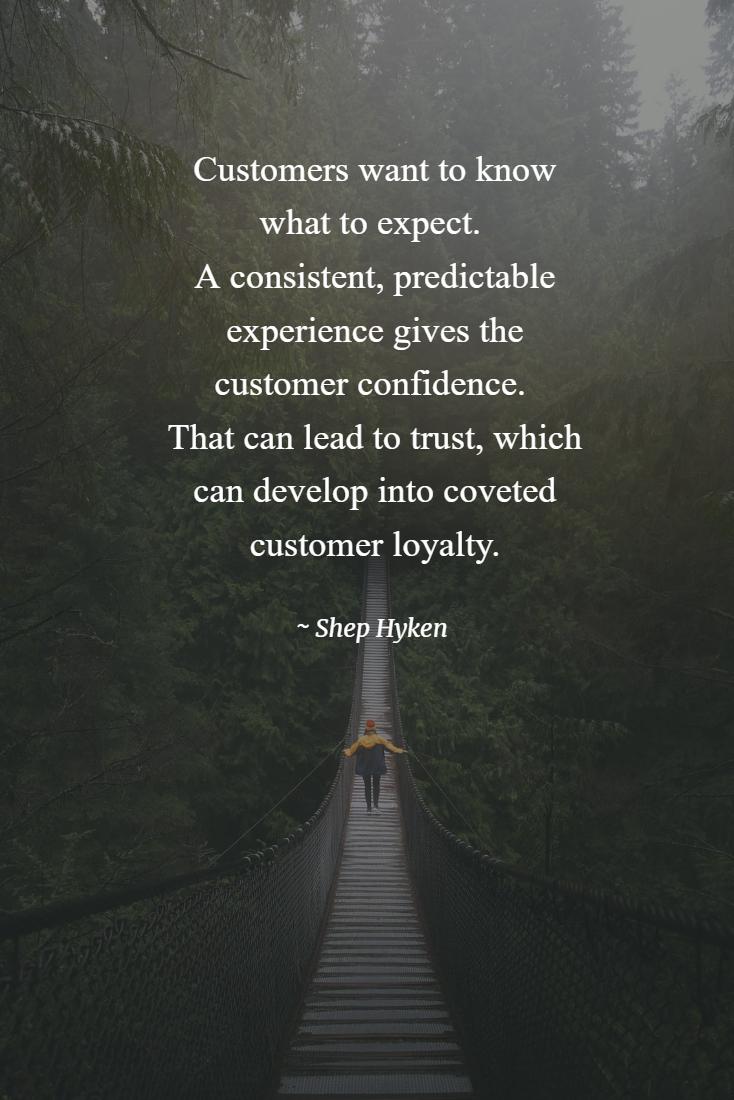 Five Ways To Create Customer Loyalty Shep Hyken Customer Loyalty Customer Service Quotes Loyalty