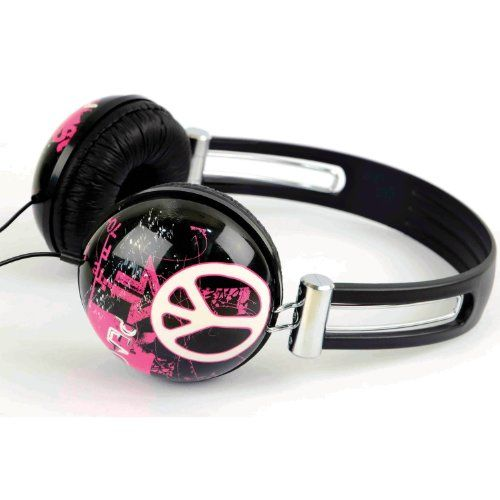 00b171593bf iWorld Headphones - Compatible with Apple IPod/IPhone and MP3 Player (One  Size, Street Art) $14.99