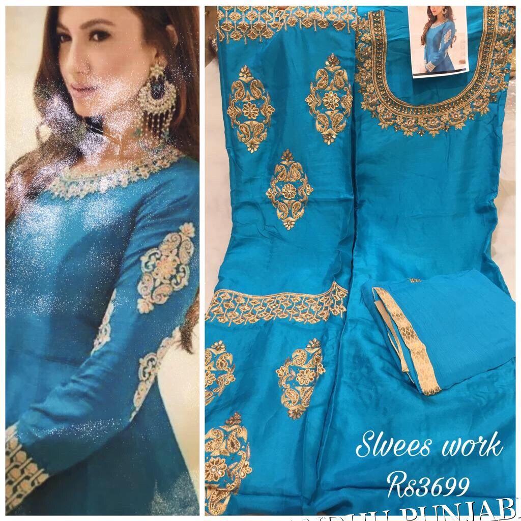 Pin by Sandhu boutique phagwara on Sandhu punjabi suits | Pinterest ...