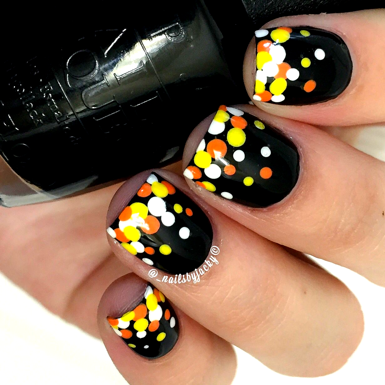 Halloween Nails Acrylic Simple Ideas #Halloween #Nails in ...