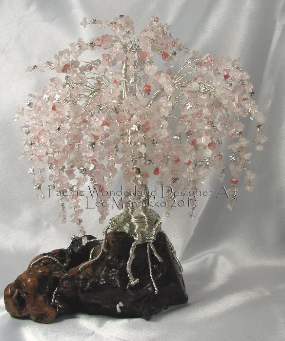 Yessy Pacific Wonderland Wire Tree Sculptures Weeping Cherry Blossom Tree Wire Tree Sculpture Metal Tree Wall Art Wire Trees