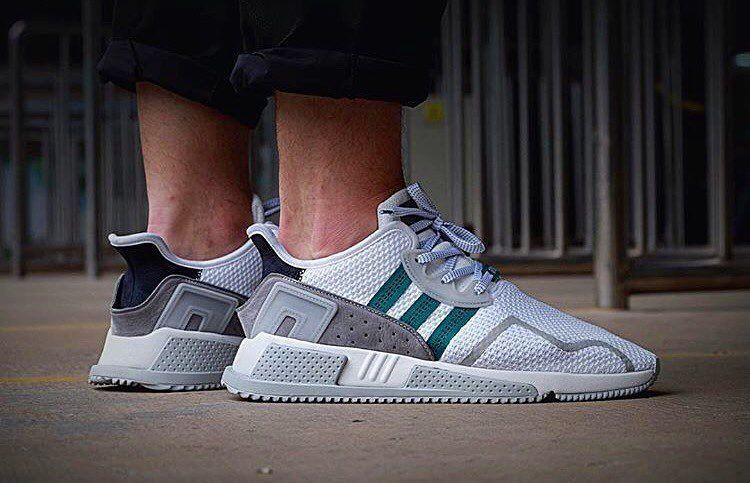 separation shoes d8200 6fed6 EARTOTHESTREET ©™ shows first on-feet pics of the adidas EQT Cushion ADV!  That shape! Coming very soon! Wanna get a shoutout yourself