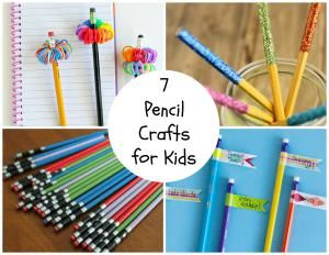Pencils are something that everyone has lying around their home! This makes them such a great craft supply. Try these 7 Pencil Crafts for Kids!