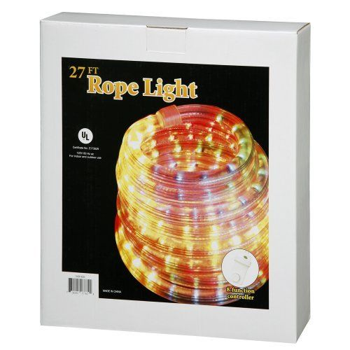 27\u0027 Multi-color Rope Christmas Light 13mm 1\