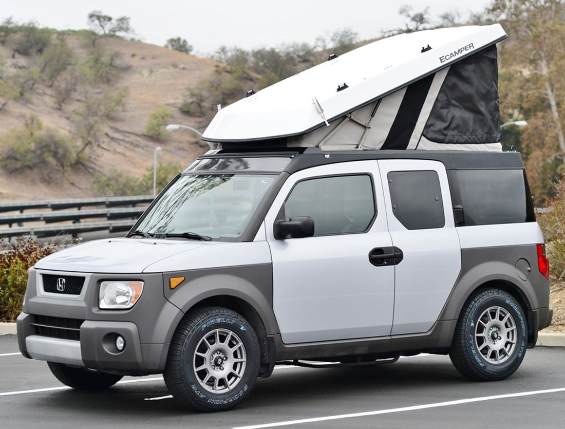 Turn Your Honda Element Into A Hotelement Honda Element Camper